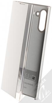Samsung EF-ZN970CS Clear View Cover originální flipové pouzdro pro Samsung Galaxy Note 10 stříbrná (silver)