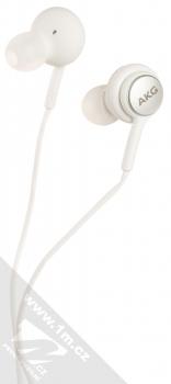 Samsung EO-IC100BW originální stereo headset AKG s tlačítkem a USB Type-C konektorem bílá (white) sluchátka
