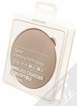 Samsung EP-PG950BD Wireless Charger Convertible podložka pro bezdrátové nabíjení hnědá (brown) krabička