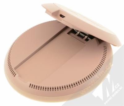 Samsung EP-PG950BD Wireless Charger Convertible podložka pro bezdrátové nabíjení hnědá (brown) rozložené zezdola