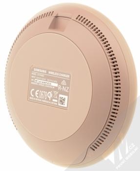 Samsung EP-PG950BD Wireless Charger Convertible podložka pro bezdrátové nabíjení hnědá (brown) zezadu