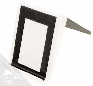 Sligo GreenGo Mobile Stand with Screen Cleaner stojánek s čisticí houbičkou pro mobilní telefon bílá černá (white black)