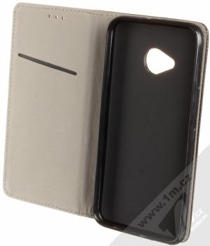 Sligo Smart Magnet flipové pouzdro pro HTC U11 Life černá (black) otevřené