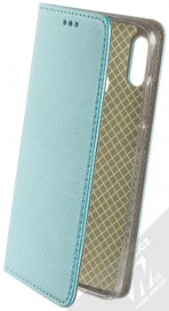 Sligo Smart Magnet flipové pouzdro pro Huawei P Smart (2019) tyrkysová (turquoise)