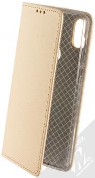 Sligo Smart Magnet flipové pouzdro pro Motorola One zlatá (gold)