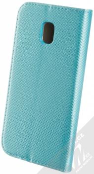 Sligo Smart Magnet flipové pouzdro pro Samsung Galaxy J3 (2017) tyrkysová (turquoise) zezadu