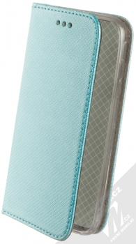 Sligo Smart Magnet flipové pouzdro pro Samsung Galaxy J3 (2017) tyrkysová (turquoise)