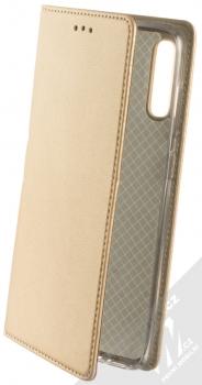 Sligo Smart Magnetic flipové pouzdro pro Samsung Galaxy A70 zlatá (gold)