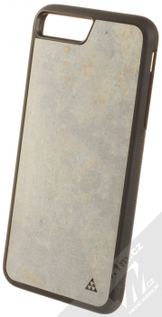 Smartwoods Beton Active ochranný kryt s pravým betonem pro Apple iPhone 7 Plus, iPhone 8 Plus světle šedá (light grey)