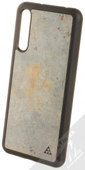 Smartwoods Beton Active ochranný kryt s pravým betonem pro Huawei P20 Pro světle šedá (light grey)