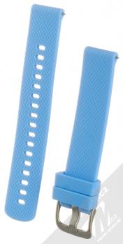 Tactical Diamond Color Strap silikonový pásek na zápěstí s univerzální osičkou 18mm modrá (blue)