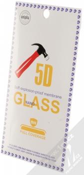 Unipha 5D Nano Tempered Glass ochranné tvrzené sklo na kompletní displej pro Samsung Galaxy A8 (2018) černá (black) krabička