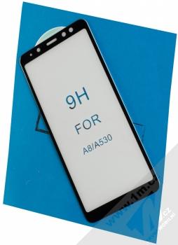 Unipha 5D Nano Tempered Glass ochranné tvrzené sklo na kompletní displej pro Samsung Galaxy A8 (2018) černá (black)