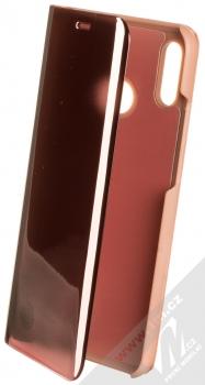 Vennus Clear View flipové pouzdro pro Huawei P20 Lite růžová (pink)