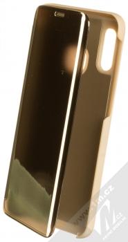 Vennus Clear View flipové pouzdro pro Samsung Galaxy A20e zlatá (gold)