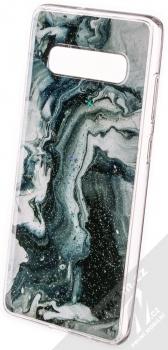 Vennus Stone Case ochranný kryt pro Samsung Galaxy S10 Plus zelený nefrit (green nephrite)