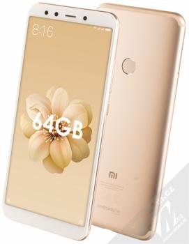 Xiaomi Mi A2 4GB/64GB Global Version CZ LTE + BLUETOOTH HEADSET STEREO SLUCHÁTKA SETTY v ceně 890Kč ZDARMA zlatá (gold)