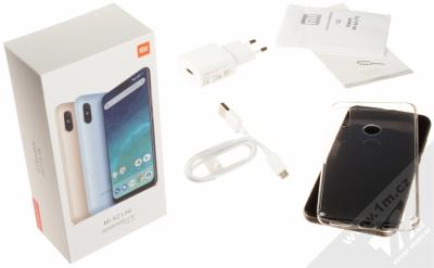 XIAOMI MI A2 LITE 4GB/64GB Global Version CZ LTE zlatá (gold) balení