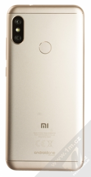 XIAOMI MI A2 LITE 4GB/64GB Global Version CZ LTE zlatá (gold) zezadu