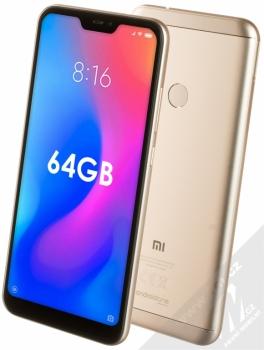 Xiaomi Mi A2 Lite 4GB/64GB Global Version CZ LTE + BRÝLE PRO VIRTUÁLNÍ REALITU SETTY v ceně 499Kč ZDARMA zlatá (gold)
