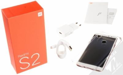 XIAOMI REDMI S2 3GB/32GB Global Version CZ LTE růžově zlatá (rose gold) balení