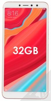 XIAOMI REDMI S2 3GB/32GB Global Version CZ LTE růžově zlatá (rose gold) zepředu