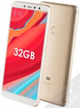 Xiaomi Redmi S2 3GB/32GB Global Version CZ LTE + BLUETOOTH HEADSET STEREO SLUCHÁTKA SETTY v ceně 890Kč ZDARMA zlatá (gold)