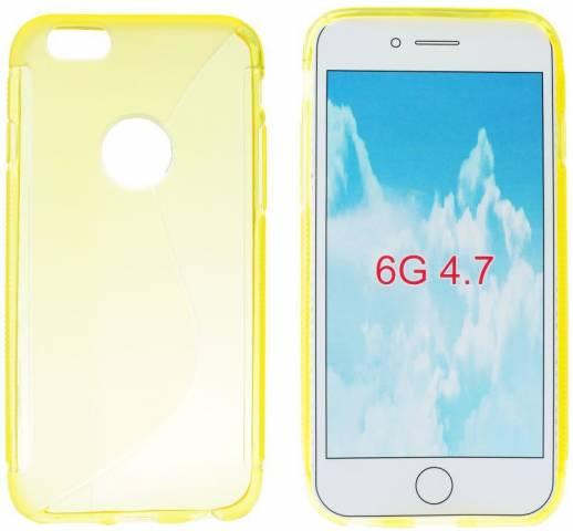 Forcell S Case silikonové pouzdro pro Apple iPhone 6 žlutá (yellow ... fb5aa8f7132