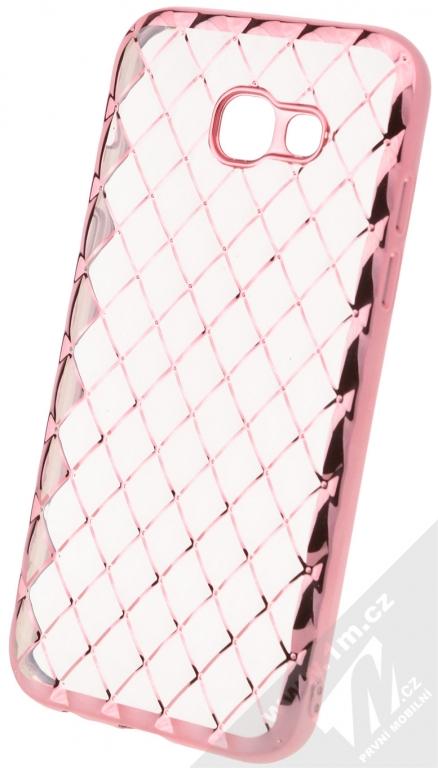 46df30e5e Forcell Luxury Gel ochranný silikonový kryt pro Samsung Galaxy A5 (2017)  růžově zlatá (