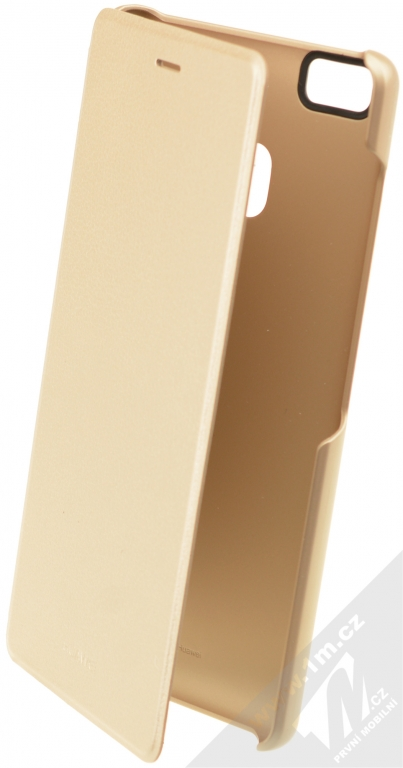 Huawei Folio Flip originální flipové pouzdro pro Huawei P9 Lite zlatá (gold) 900544cd012