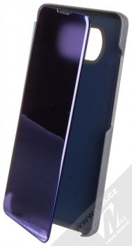 1Mcz Clear View flipové pouzdro pro Xiaomi Poco X3 NFC, Poco X3 Pro modrá (blue)