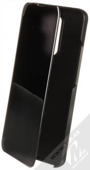 1Mcz Clear View flipové pouzdro pro Xiaomi Redmi 9 černá (black)