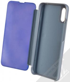 1Mcz Clear View flipové pouzdro pro Xiaomi Redmi 9A modrá (blue) otevřené