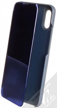1Mcz Clear View flipové pouzdro pro Xiaomi Redmi 9A modrá (blue)