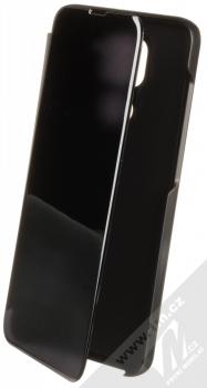 1Mcz Clear View flipové pouzdro pro Xiaomi Redmi Note 9 černá (black)