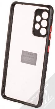 1Mcz Defender Hybrid odolný ochranný kryt pro Samsung Galaxy A52, Galaxy A52 5G černá (black) zepředu