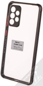 1Mcz Defender Hybrid odolný ochranný kryt pro Samsung Galaxy A52, Galaxy A52 5G černá (black)