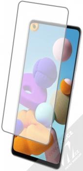 1Mcz Glass ochranné tvrzené sklo na displej pro Samsung Galaxy A21s s telefonem