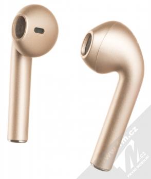 1Mcz i12 inPods Eleven Pro TWS Bluetooth stereo sluchátka růžově zlatá (rose gold)