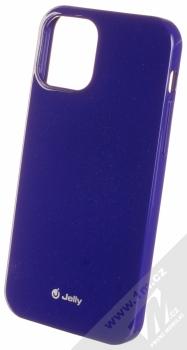 1Mcz Jelly TPU ochranný kryt pro Apple iPhone 12, iPhone 12 Pro fialová (purple)