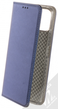 1Mcz Magnet Book flipové pouzdro pro Xiaomi Mi 11 Lite, Mi 11 Lite 5G tmavě modrá (dark blue)