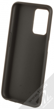 1Mcz Matt TPU ochranný silikonový kryt pro Realme 8 5G černá (black) zepředu