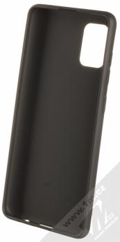 1Mcz Matt TPU ochranný silikonový kryt pro Samsung Galaxy A31 černá (black) zepředu