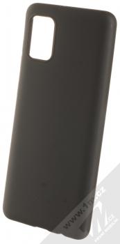 1Mcz Matt TPU ochranný silikonový kryt pro Samsung Galaxy A31 černá (black)