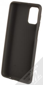 1Mcz Matt TPU ochranný silikonový kryt pro Samsung Galaxy M31s černá (black) zepředu