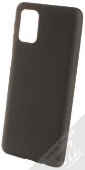1Mcz Matt TPU ochranný silikonový kryt pro Samsung Galaxy M31s černá (black)