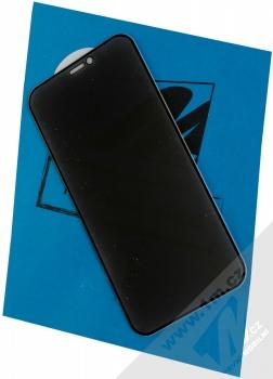 1Mcz Privacy Glass 5D tvrzené sklo na celou přední stranu s privátním filtrem pro Apple iPhone 12 Pro Max černá (black)