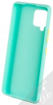 1Mcz Solid TPU ochranný kryt pro Samsung Galaxy A42 5G mátově zelená (mint green) zepředu