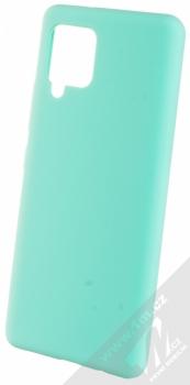 1Mcz Solid TPU ochranný kryt pro Samsung Galaxy A42 5G mátově zelená (mint green)