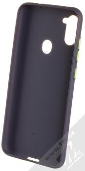 1Mcz Solid TPU ochranný kryt pro Samsung Galaxy M11 tmavě modrá (navy blue) zepředu